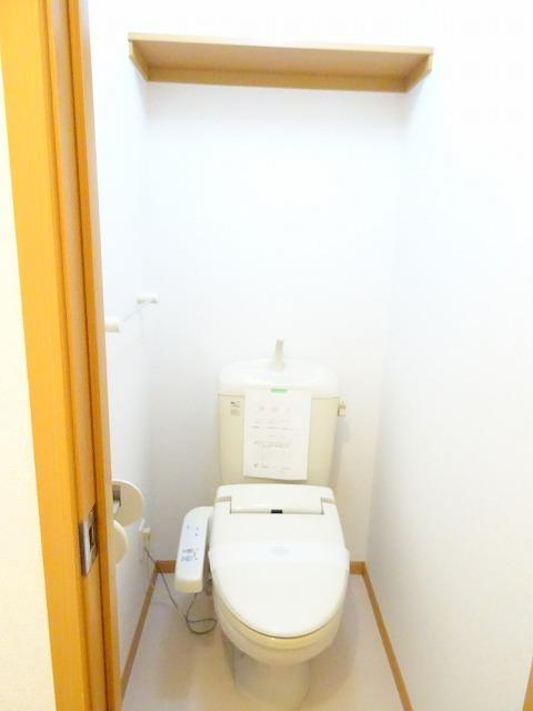 プランタンフルールB 01010号室のトイレ