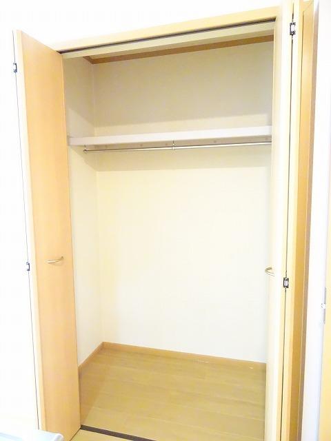プランタンフルールB 01010号室の収納