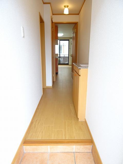 プランタンフルールB 01010号室の玄関