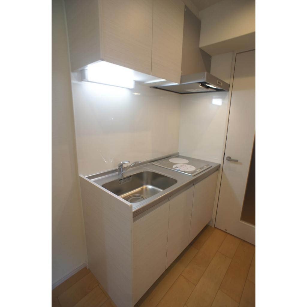 Vieuno TN ビューノティーエヌ 202号室のキッチン