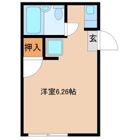 Loa Plata新松戸・102号室の間取り