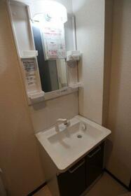 ベイルーム鶴見中央 201号室の洗面所