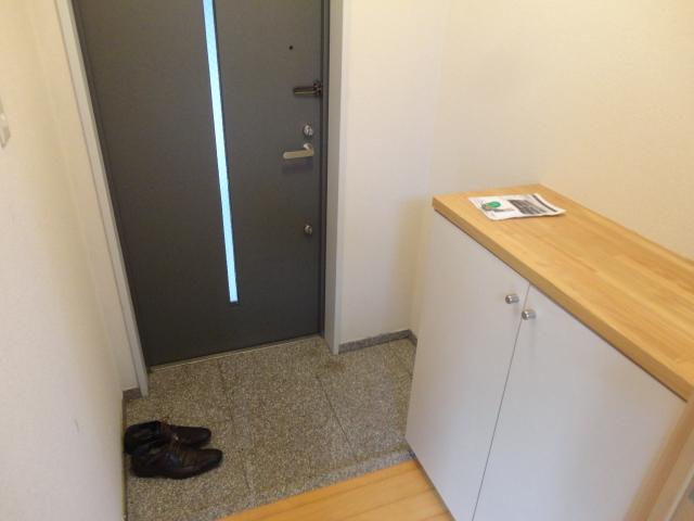 ランブラス桂水築町 103号室の玄関