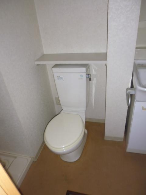 ランブラス桂水築町 103号室のトイレ
