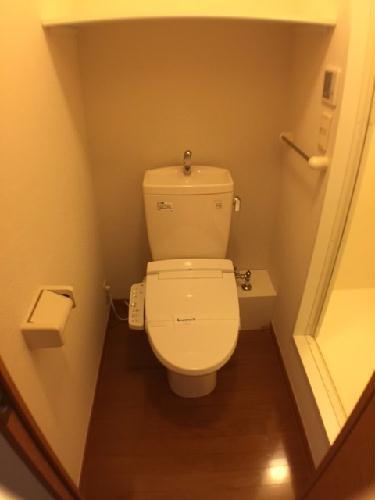 レオパレス真 101号室のトイレ