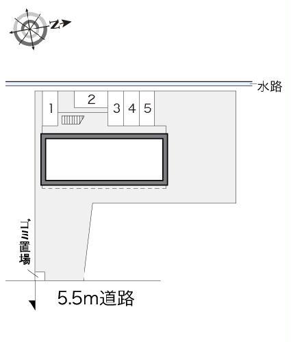 レオパレスbrilliantM 101号室のトイレ