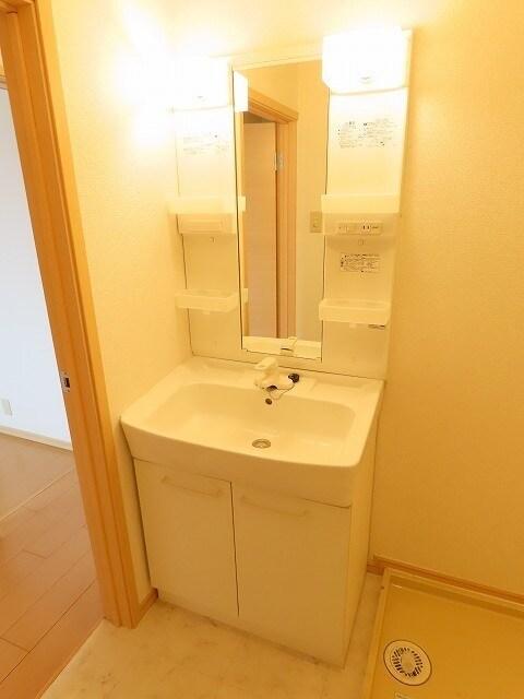 ゆ-とぴあ大橋 01010号室の洗面所