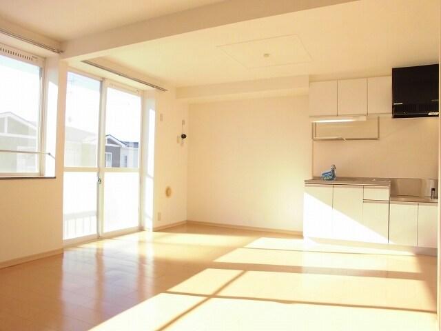 ゆ-とぴあ大橋 01010号室のリビング