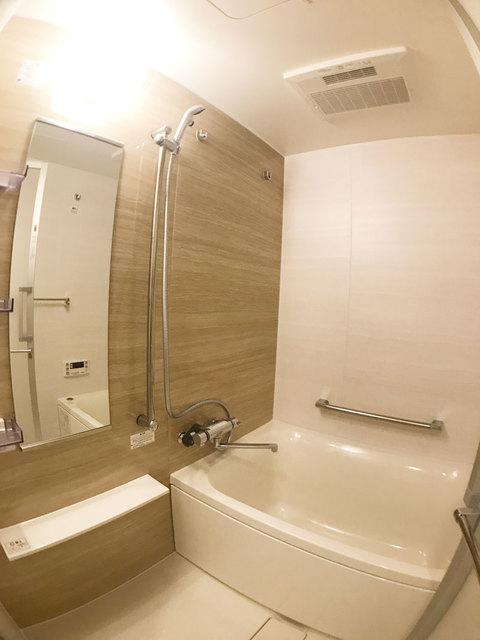 パークアクシス築地 204号室の風呂