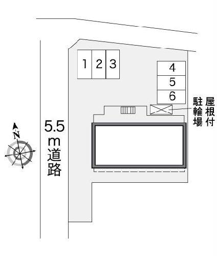 レオパレスグリーンタカタⅡ 101号室のトイレ