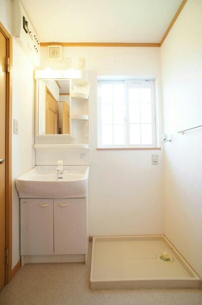 サンパティーク 02040号室の洗面所
