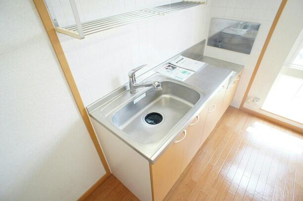 サンパティーク 02040号室のキッチン