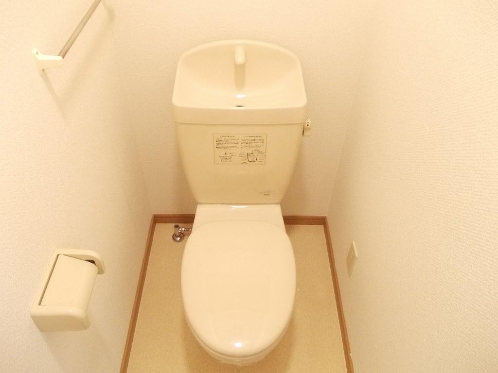 パラス卯兵衛 05020号室のトイレ