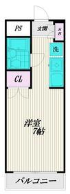 第23クリスタルマンション・405号室の間取り