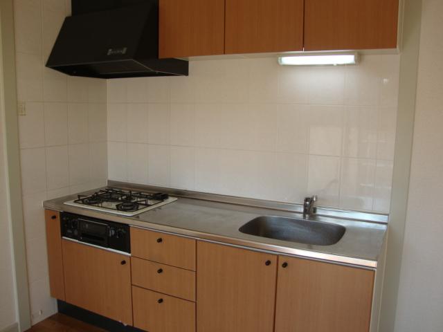 ルーエンハイムA 101号室のキッチン