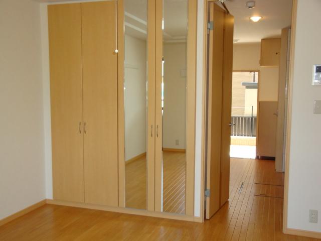 サンライズ桜 101号室の収納