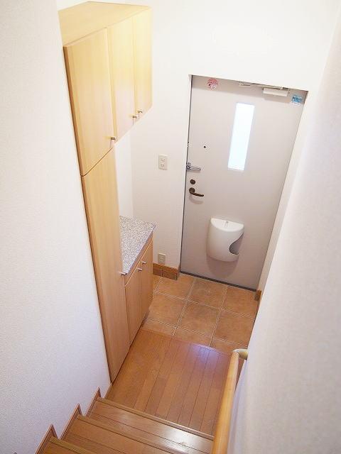 クラーベルⅠ 02030号室の玄関