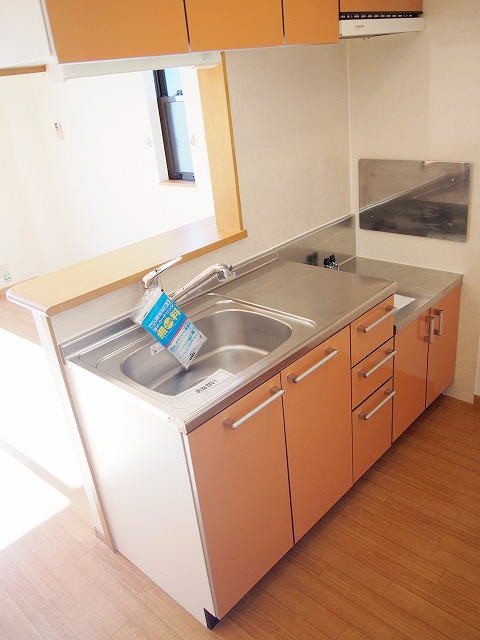 クラーベルⅠ 02030号室のキッチン