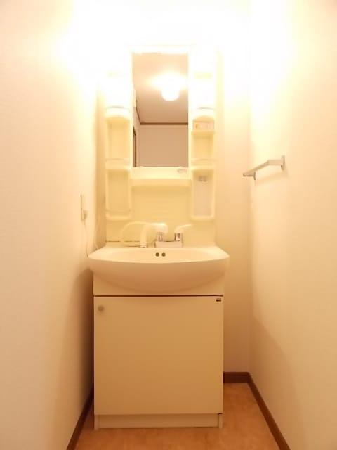 レフィナード・エムA 02020号室の洗面所