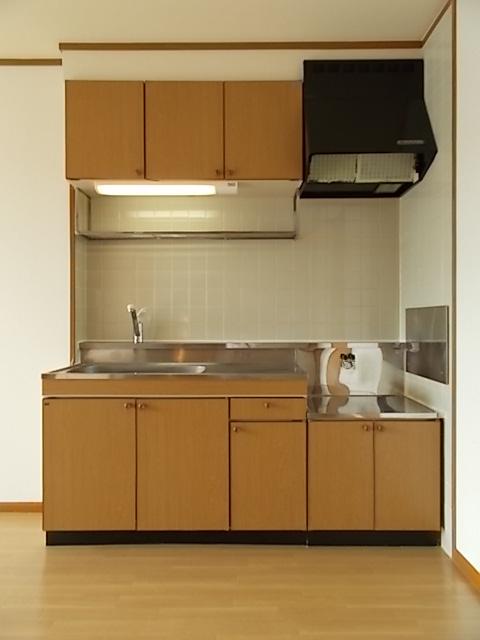 レフィナード・エムA 02020号室のキッチン