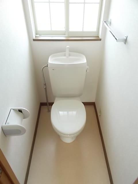 レフィナード・エムA 02020号室のトイレ