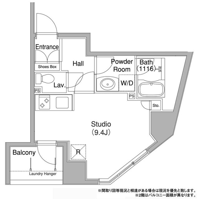 コンフォリア銀座EAST・0902号室の間取り