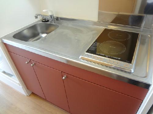 レオパレスYAHAGIⅠ 406号室のキッチン