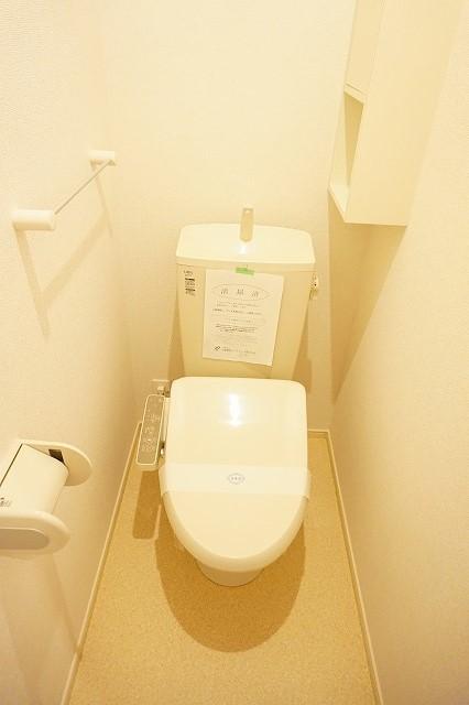 エトワールⅡ A 01020号室のトイレ