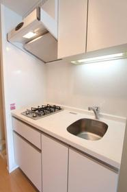プラウドフラット鶴見Ⅰ 514号室のキッチン