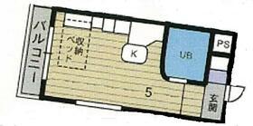 ラ・パルフェ・ド・コロン・0405号室の間取り