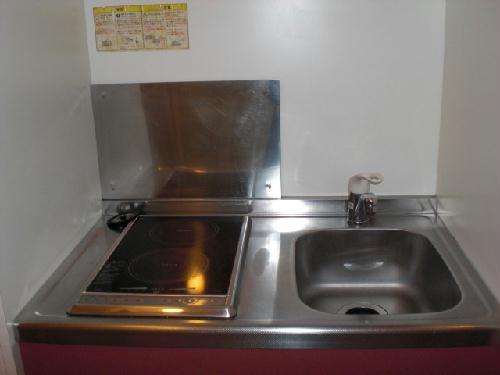 レオパレスベルダカーサ 101号室のキッチン