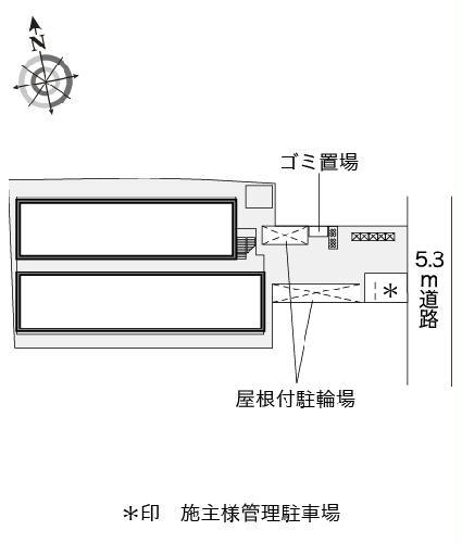 レオパレスイン京都 106号室のトイレ