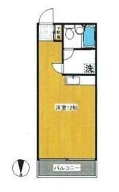 小野木ビル 407号室の間取り