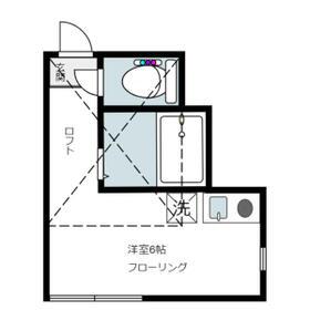 ユナイト神大寺レフォルマの杜 202号室の間取り