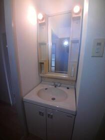 トラストレジデンス本郷台 302号室の洗面所
