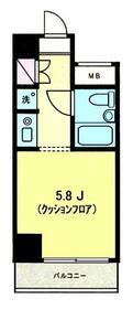 パーク・ノヴァ横浜五番館・302号室の間取り