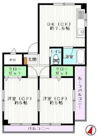 鈴栄第三ビル・3F号室の間取り