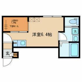Classy Residence・108号室の間取り