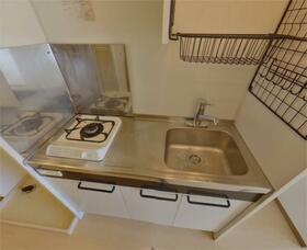 フラット高島平 202号室のキッチン