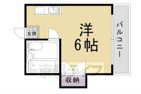 グリーンハイツ山崎・102号室の間取り