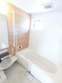 プラウドパークス D 201号室の風呂
