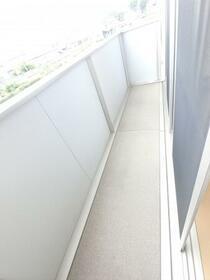 プラウドパークス D 201号室のバルコニー