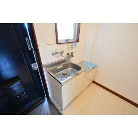 セントラル星ケ丘 00204号室のキッチン