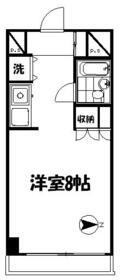 ストーク北新宿 312号室の間取り
