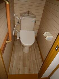 草ヶ谷荘 A棟 101号室のトイレ