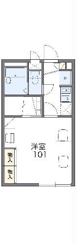 レオパレス富士見第二・203号室の間取り