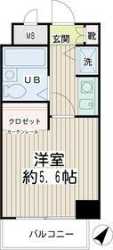 ネオマイム新子安弐番館・00305号室の間取り