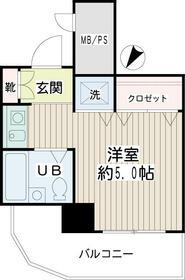 ネオマイム新子安弐番館・00404号室の間取り