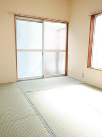 プチメゾンチカダ1 00201号室のベッドルーム
