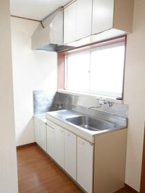 プチメゾンチカダ1 00201号室のキッチン